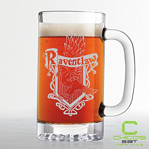 Harry Potter – Ravenclaw House Crest Beer Mug – Etched
