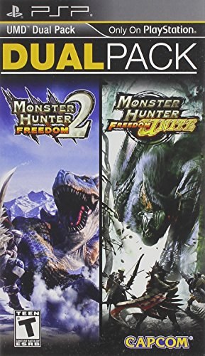 Monster Hunter Freedom 2 and Freedom Unite Dual Pack PSP – PlayStation Portable