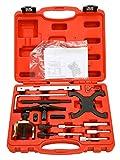 8MILELAKE Ford Mazda Engine Timing Tool Kit Camshaft & Flywheel Locking Tools