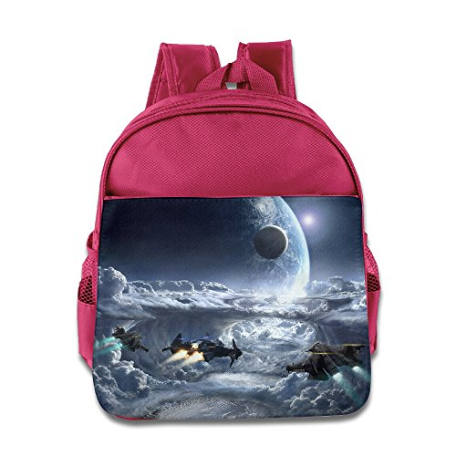 - XJBD Custom Cute Star Citizen Teenager Schoolbag For 1-6 Years Old Pink