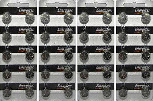 40x Energizer Watch/electronic, A76/lr44 (A76bp) 40 Pack Bundle!! Energizer Lr44 1.5v Button Cell Battery 10 Pack (Replaces: Lr44, Cr44, Sr44, 357, Sr44w, Ag13, G13, A76, A-76, Px76, 675, 1166a, Lr44h, V13ga, Gp76a, L1154, Rw82b, Epx76, Sr44sw, 303, Sr44, S303, S357, Sp303, Sr44sw)
