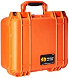 Pelican 1400 Camera Case With Foam (Orange)