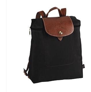 f5b0635458 Longchamp Women 1699089 NOIR Backpack  Amazon.co.uk  Shoes   Bags