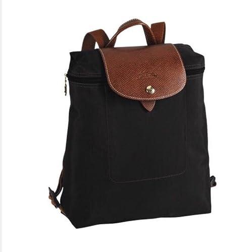 b529548380 Longchamp Le Pliage Backpack (Black)