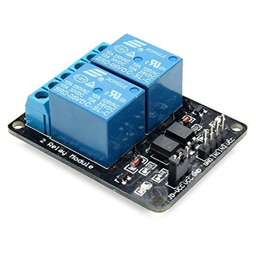 QOJA 2 way relay module with optocoupler protection by QOJA (Image #2)