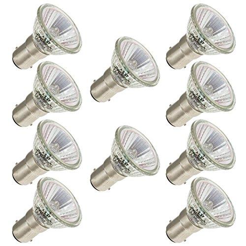 Industrial Performance FTH/DC/CG, 35 Watt, MR11, Bayonet (BA15D) Base Light Bulb (10 Bulbs)