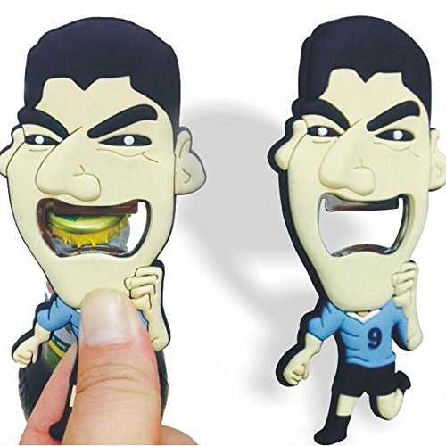 Wall of Dragon The Luis Alberto Suarez Stainless Steel Opener Beer Bottle Opener Liverpool Kitchen Cooking Tools World Cup Creative Gift