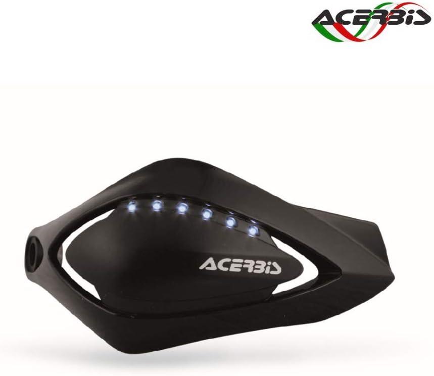 Acerbis Paramani Scooter Flash con LED integrati Argento