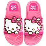 Hello Kitty Girls Pink Summer Slippers Slide Sandals (Parallel Import/Generic Product) (8 M US Toddler)