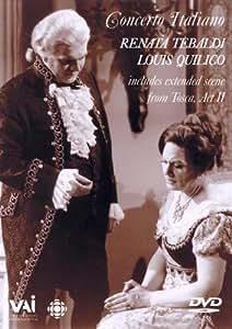 Renata Tebaldi & Louis Quilico: Concerto Italiano [Import]