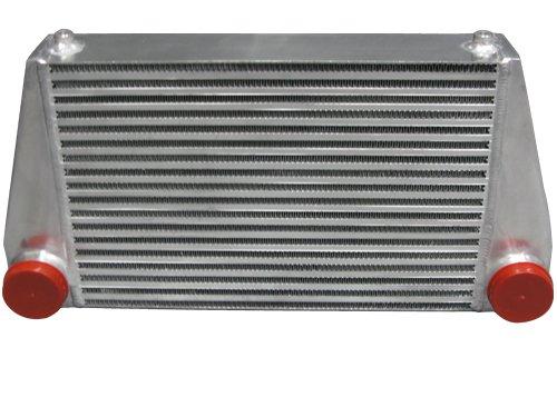 (Universal V-Mount Turbo Intercooler Size: 24x12x3.5)