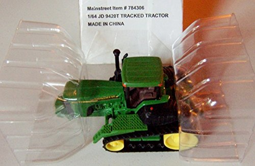 [1/64 John Deere JD 9420T Tracked Tractor Die Cast Vechicle] (Tracked Tractor)