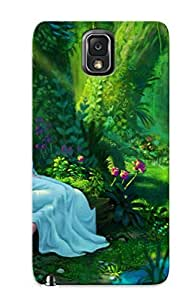 FYgxatM95dGrLF Fantasy Artistic Cutedigitalart Paintings Women Females Girls Trees Forests Nature Landscapes Protective Case Cover Skin/galaxy Note 3 Case Cover Appearance