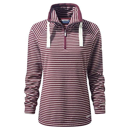 Craghoppers Jacket Womens Half Zip Rhonda Coat Rosa Fleece Polyester Ladies qSqP1R