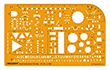 Linograph Electrical Symbols sketching Design & Layout Template Stencil
