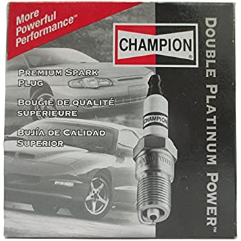 Champion 7570 Double Platinum Spark Plug, Pack of 4
