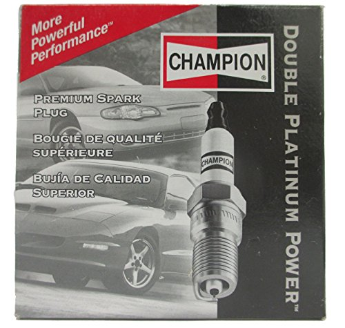 Champion 7437 Double Platinum Power Replacement Spark Plug, Pack of 1