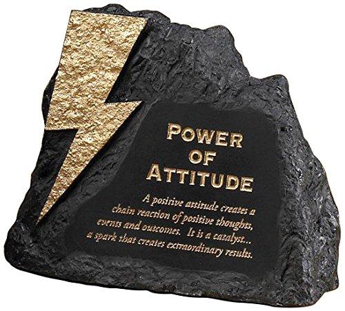 Successories 756022 Attitude Power Rock Paperweight ()