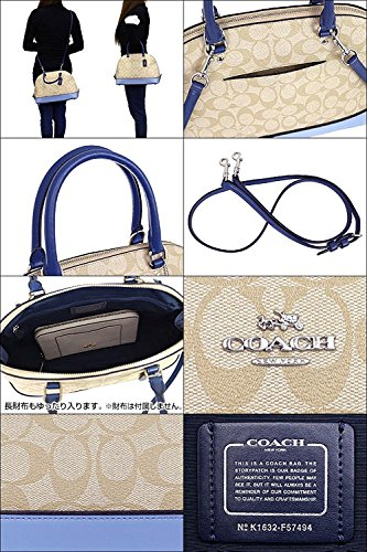 d4bf6511afce COACH SIERRA SATCHEL IN COLORBLOCK SIGNATURE F57494