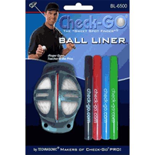Technasonic Check-Go Ball Liner with 4 Colored - Go Balls