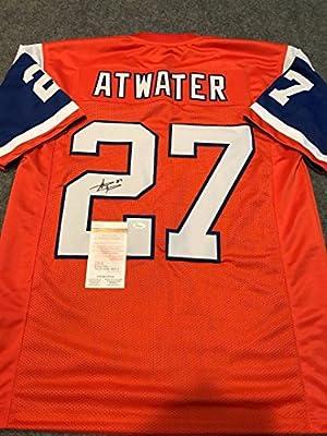 Steve Atwater Autographed Signed Denver Broncos Jersey Jsa Coa