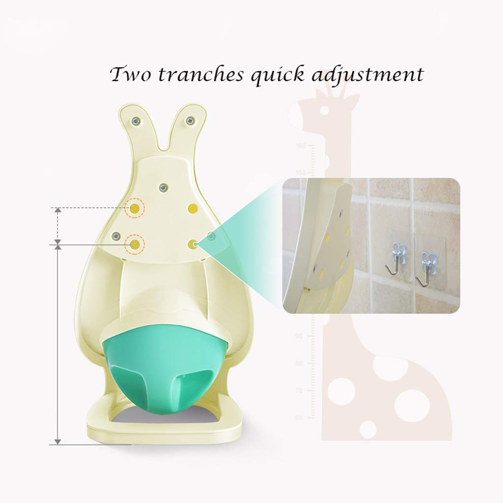 Color : Green DUOER home-R/éducteurs de toilettes Nouvelle Arriv/ée B/éb/é Gar/çon Pot Toilette Formation Toilette Grenouille Enfants Stand Vertical Urinoir Gar/çons Penico Pee Infant Toddler Mural
