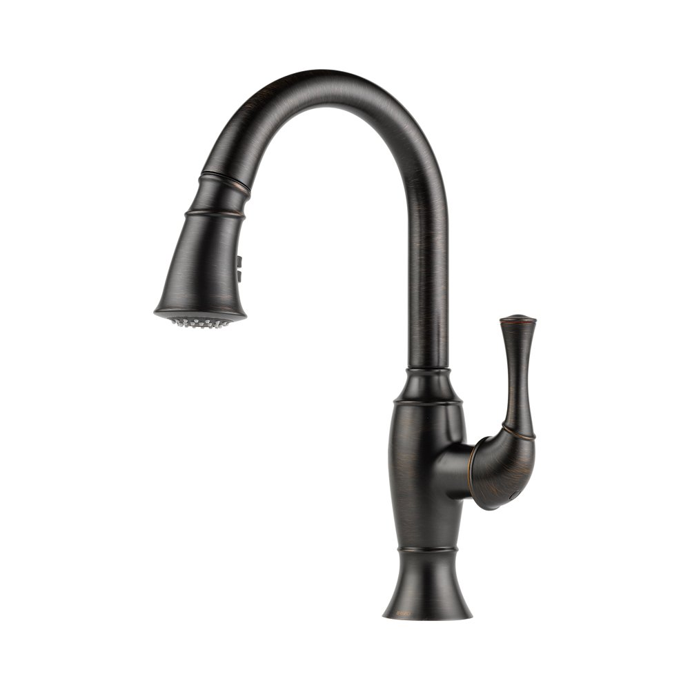 BW brizo kitchen faucet Brizo LF SS Talo Kitchen Faucet with Pullout Spray Stainless Steel Touch On Kitchen Sink Faucets Amazon com