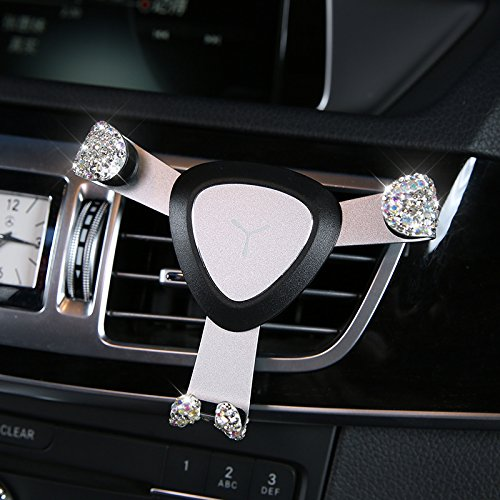 Amazon Com Eing Cell Phone Holder For Car Air Vent Bling Bling