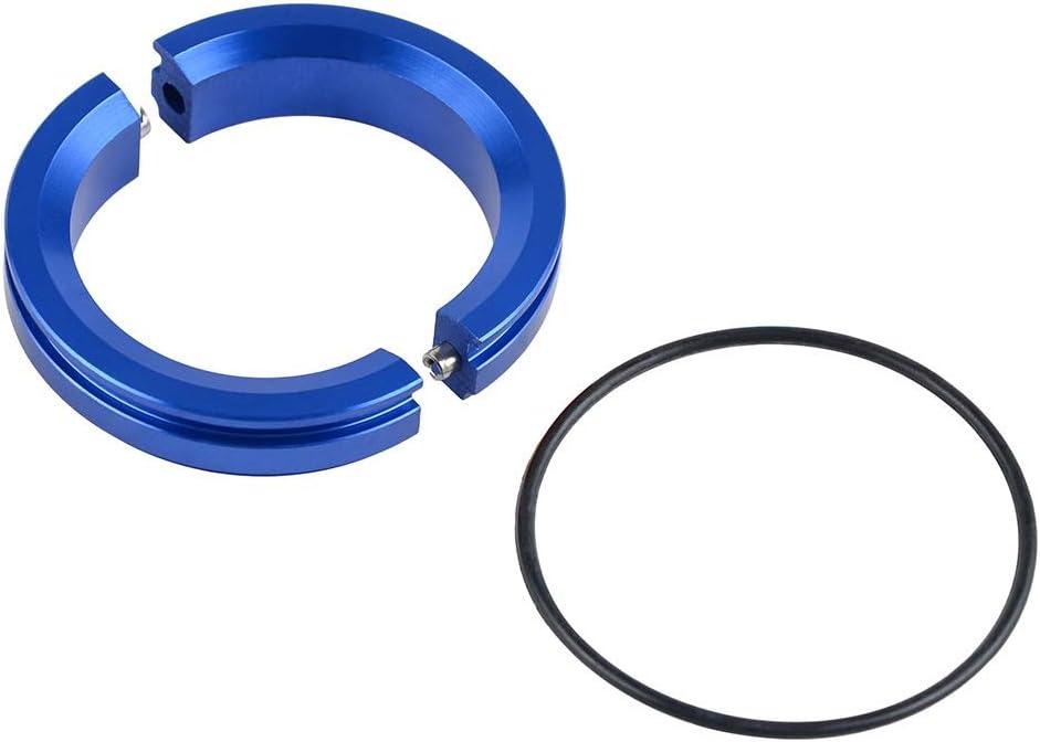NO LOGO SHIYM-MTC, Suspensión Trasera Amortiguador Kit de rebaje por 50mm KYB Showa WP Yamaha YZ250F YZ450F YZ400 YZ250FX YZ450FX WR250F WR450F WR400 (Color : Blue)