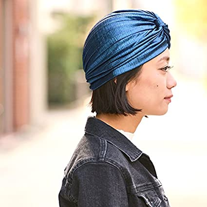 Casualbox Twist Plisado Turbante Cabeza Envolver /Árabe Indio Moda Quimio Sombrero