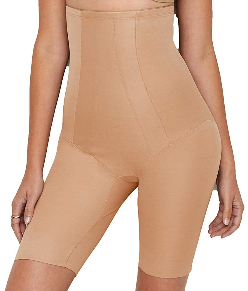 Miraclesuit Women's Extra Firm Shape with an Edge Hi-Waist Long Leg, Miraclesuit Shapewear 2709