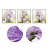 Mazixun DIY Diamond Painting ''Bottle Flowers'' Diamond Embroidery Full Cross Stitch Round Diamond Mosaic Bead Picture Home Decor