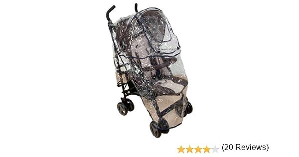 Burbuja universal de silla de paseo para la lluvia (multiusos). Protector de lluvia para bebés: Amazon.es: Bebé