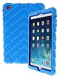 Apple iPad mini iPad mini Retina iPad mini 3 Drop Tech Light Blue Gumdrop Cases Silicone Rugged Shock Absorbing Protective Dual Layer Cover Case