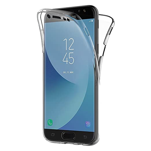 2 opinioni per Cover Samsung Galaxy J7 2017, AICEK 360° Full Body Cover Samsung J7 2017