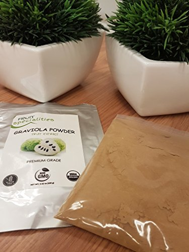 Graviola (Soursop) FRUIT Powder, 100% Natural, Pure Fruit Powder 2.2 lb (10:1 Extract) Annona Muricata Guanabana by Fruit Specialities (Image #1)