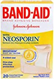 BAND-AID With Neosporin Bandages Assorted Sizes 20 Each (Pack of 3)