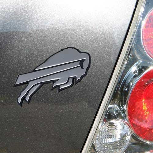 NFL Buffalo Bills Team Promark Premium Metal Emblem, Standard, Metal (Buffalo Bills Auto Decal compare prices)