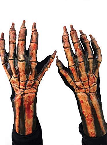 Zagone Kick Ass Beast Gloves, Bloody Skeleton  ()