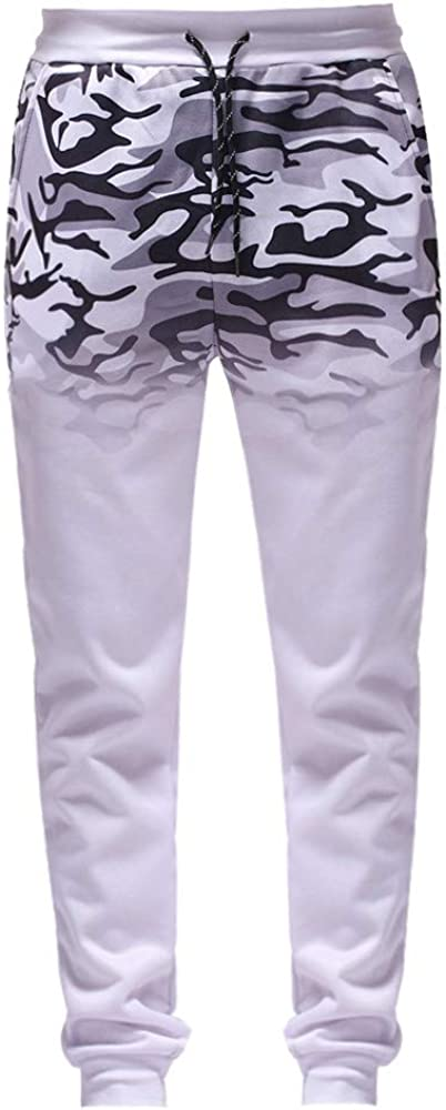 Pantalones Largos para Hombre Casuales Chino Deporte Joggers Pants ...