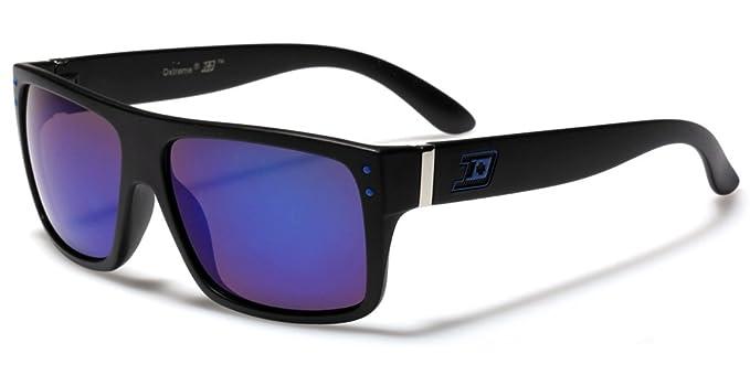 56fd51f89c Amazon.com  Flat Top Men s Super Square Style Fashion Sunglasses ...