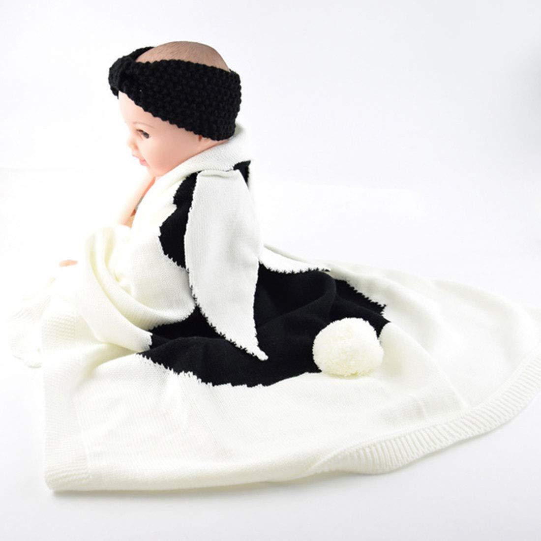 Jiyaru Mantas de beb/é para ni/ños oto/ño e Invierno beb/é reci/én Nacido Copo de Nieve peque/ña Manta de Pelo Manta de Siesta Amarillo