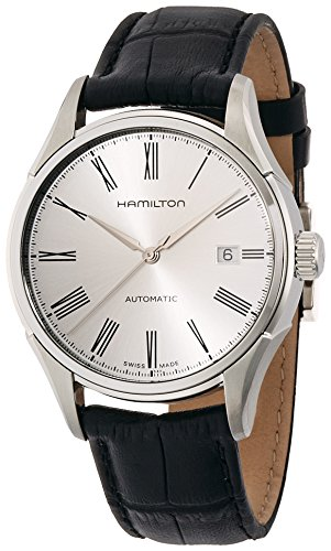 Hamilton Men's H39515754 Valiant Analog Display Automatic Self Wind Black Watch