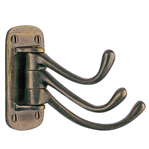 Smedbo Coat Hook Triple Antique Brass ()