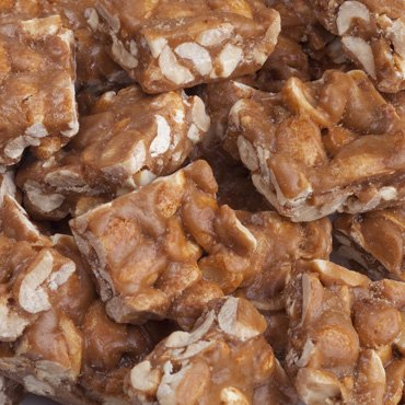 FERIDIES Peanut Brittle Crunch 18oz Vacuum Sealed Tin