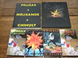 5 Item Dale Chihuly Collection - Boxed Book (Pelleas + Melisande + Chihuly) and 4 Videocassettes: Chihuly Over Venice, Chihuly in Action, Chihuly River of Glass (30 and 90 minute versions!). One shipping cost for entire collection!