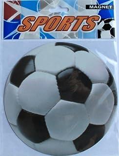 Amazoncom  Soccer Ball Car Magnet Kitchen  Dining - Custom soccer ball car magnets