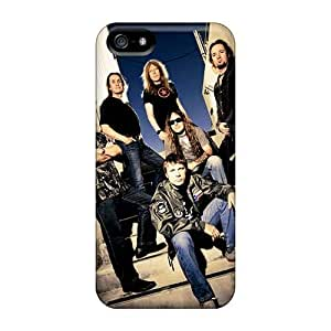 Scratch Protection Hard Phone Case For Iphone 5/5s With Unique Design High-definition Papa Roach Image CharlesPoirier