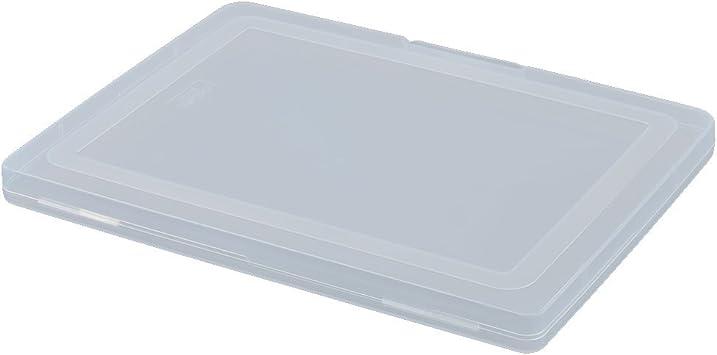 SOURCING MAP Ministerio De Interior Plástico Accesorio Portadocumentos Organizador De Archivos De Almacenamiento De Caja De Claro: Amazon.es: Bricolaje y herramientas