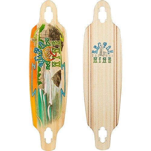 Sector 9 Shoots Drop Through Top-Mount Deck Skateboard, Assorted (9 Sector Carving Series)